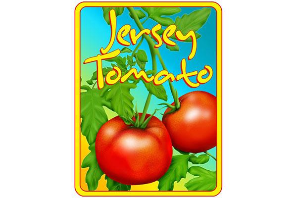 Jersey Tomato T-shirt Logo